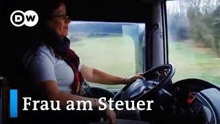 Auf Achse: LKW-Fahrerinnen in Europa | DW Deutsch