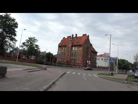 Балтийск Pillau Центр города в районе вокзала Калининградская область