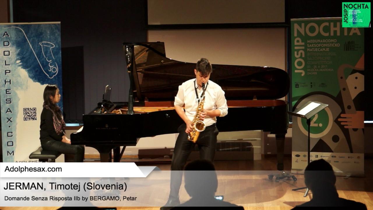 Johann Sebastian Bach   Suite No 4 in E  at major BWV 1010 Prélude - JERMAN, Timotej Slovenia