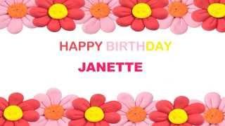 JanetteJanet like Janet   Birthday Postcards & Postales - Happy Birthday