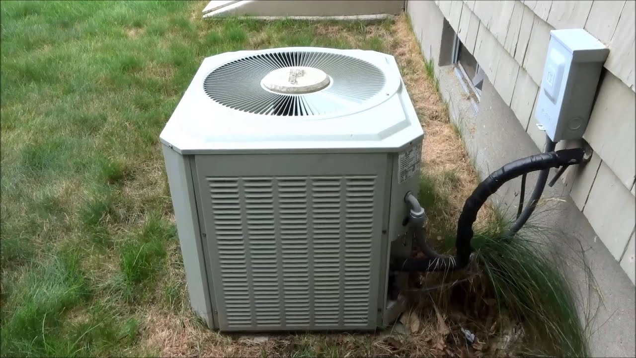 Hvac The Old Trane Blows Fuse Again Youtube York Heat Pump Box