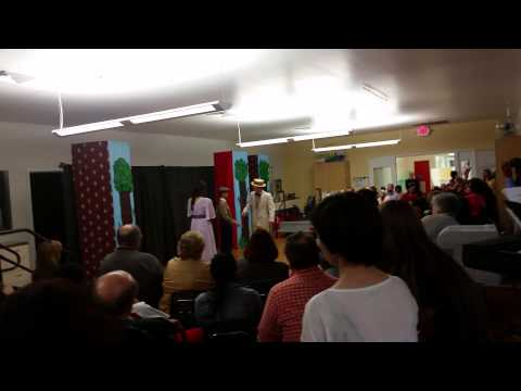 Milwaukee Montessori school play 2015 clip