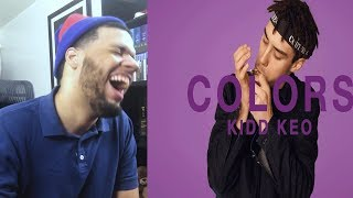 Kidd Keo - Foreign A COLORS SHOW - Reaccion a Trap De España! Kidd Keo Foreign reaccion
