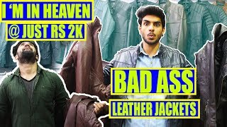 THE Best QUALITY Leather jacket market under ₹2000 | Cheapest