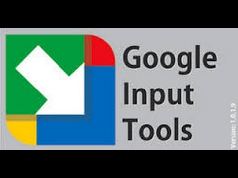Google input tools for windows (windows) download.