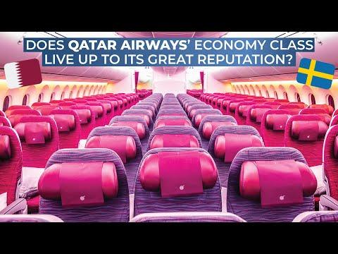 TRIPREPORT | Qatar Airways (ECONOMY) | Boeing 787-8 | Doha - Stockholm Arlanda