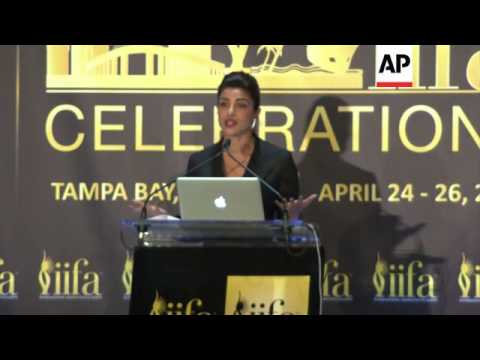 Anil Kapoor, Priyanka Chopra announce details of the15th Annual IIFAs, to be held in Tampa, Fla.
