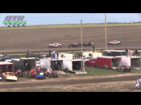 IMCA Stock Car A Feature Makeup Wakeeney Speedway 5-24-15