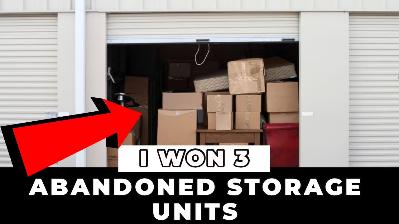 I Bought Three Abandoned Storage Units At Auction For $1500 .This Is What We Found!