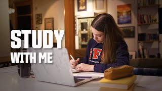 Study With Me (No Music) - 2 Hour Pomodoro Session With Breaks