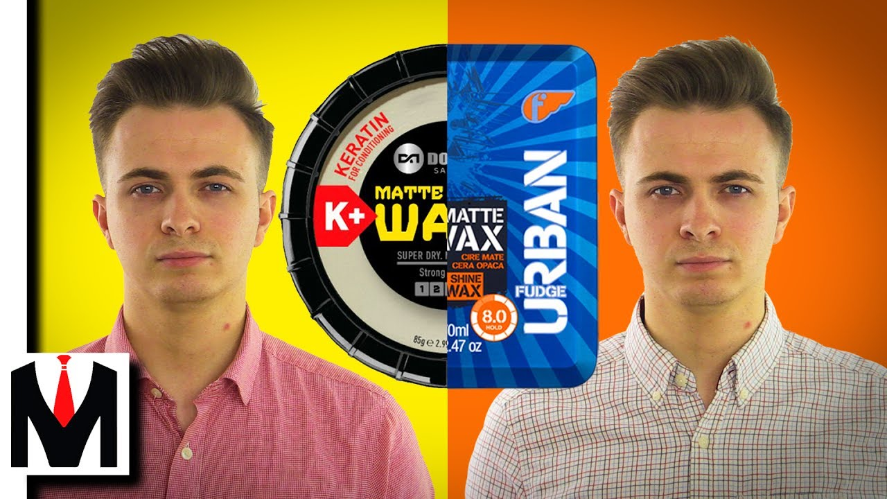 Fudge Matte Wax vs Dominate Matte Waxx   Styling Showdown (Men's Hair)