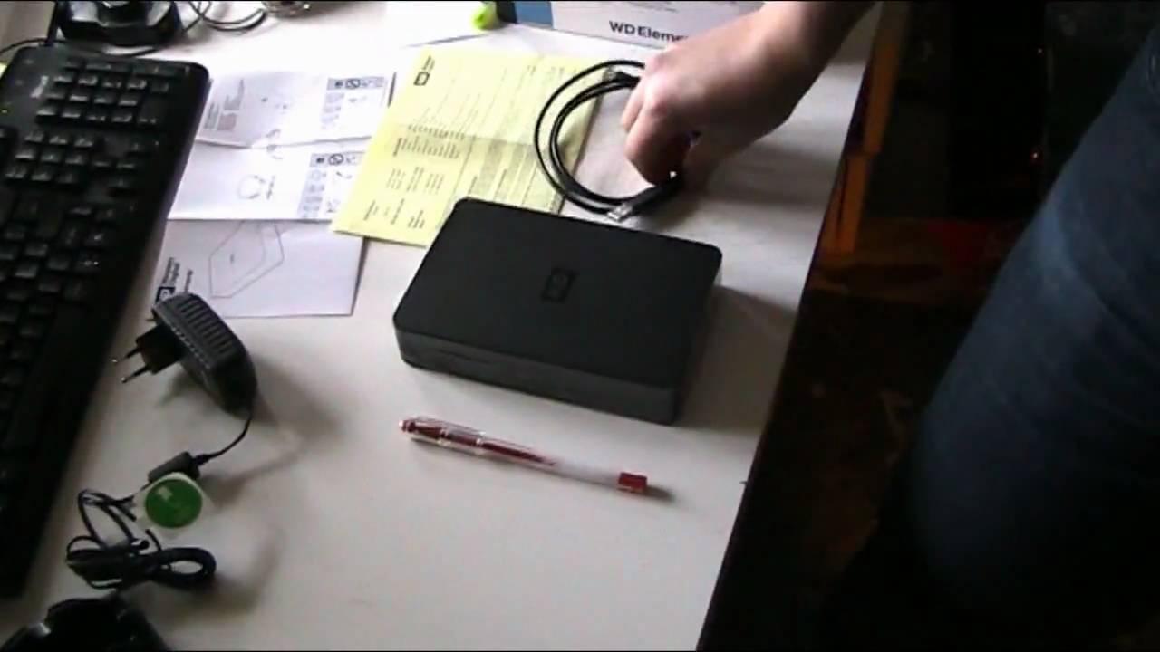 WESTERN DIGITAL WD Elements Desktop WDBAAU0015HBK - Hard disk - 1.5 TB - esterno - YouTube