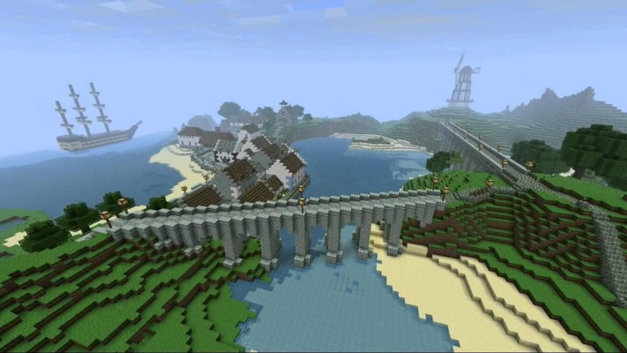 Minecraft Server Show Case - Part 1: Scottish Fishing ...