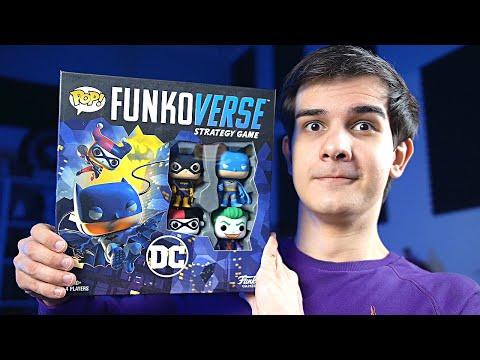 FUNKO VERSE - Настольная игра по Бэтмену от Фанко!