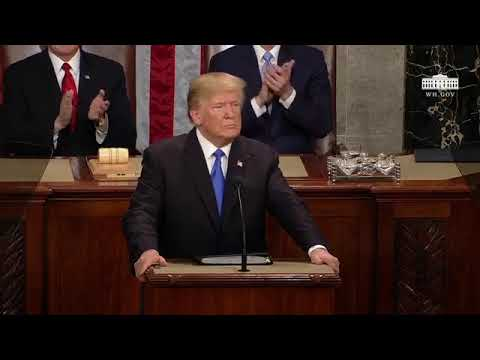 FULL POTUS Trump's First State of The Union Address