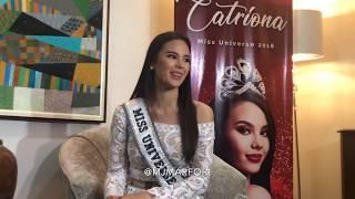 "Catriona explains why she chose Korona over Puso: ""Well I am Miss Universe naman eh."""
