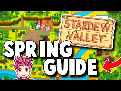 Stardew Valley - Spring Guide and Tips | GAME GIVEAWAY - Everything you need to know about Spring