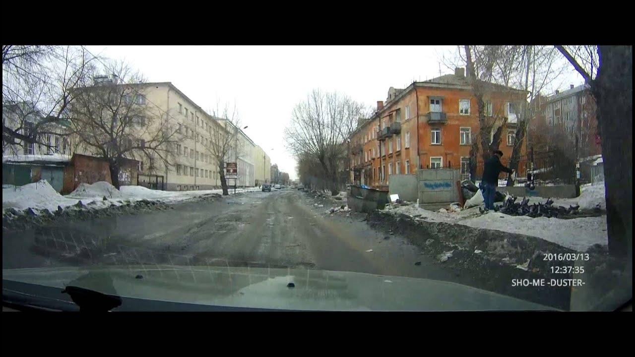 Дороги в центре Омска