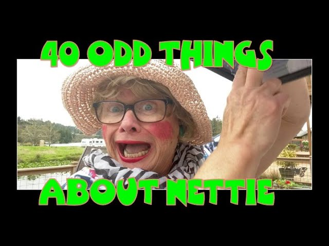 40 ODD THINGS ABOUT NETTIE - AGAIN!