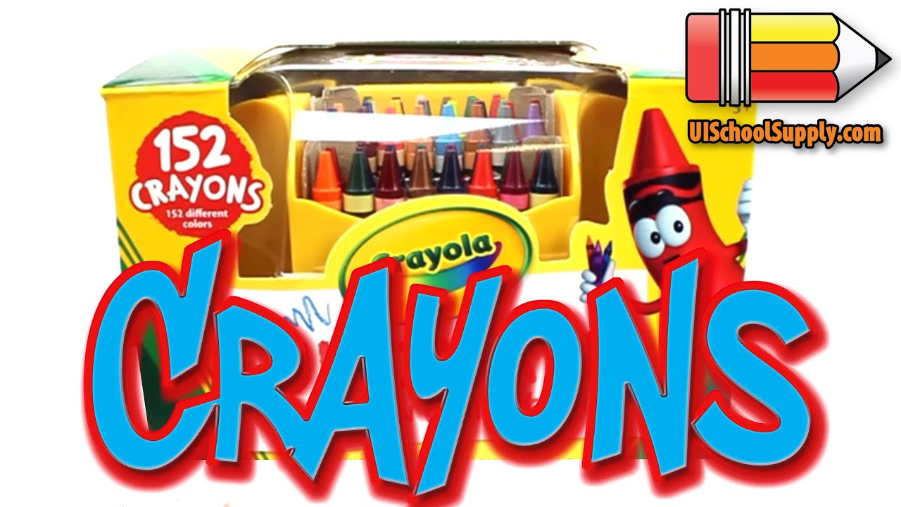 152 ultimate box of crayons by crayola product review 52 0030 youtube
