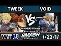 DHATL 17 Wii U - P1 | Tweek (Cloud, DK) Vs. CLG | VoiD (Sheik) - SSB4 Singles WF