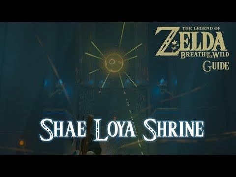 The Legend of Zelda: Breath of The Wild - Shae Loya Shrine [Guide] [Switch]