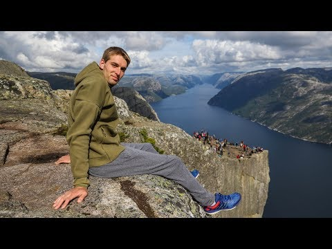 Hiking Pulpit Rock! (Norway)