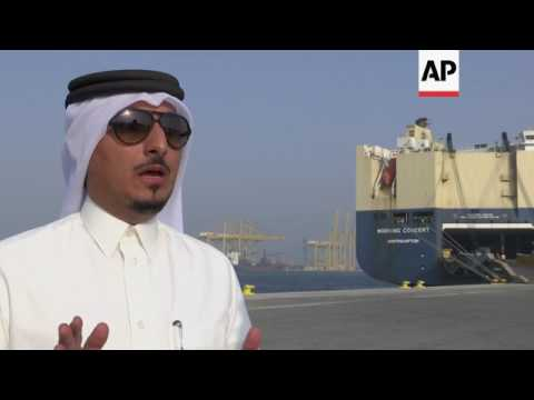 Qatar's port at capacity as blockade continues