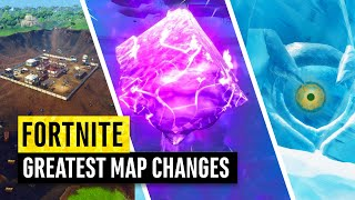 Fortnite   Greatest Map Changes EVER!