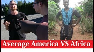 Average America VS Africa  | Video Comparison