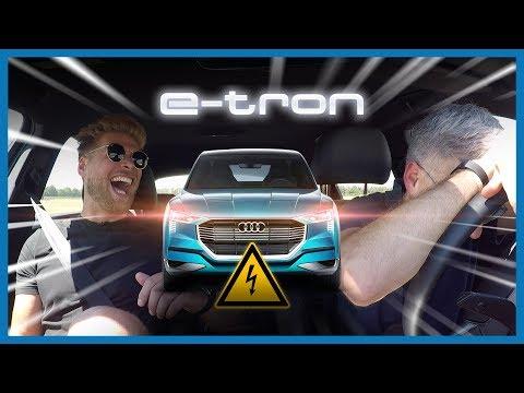 100.000 Euro Audi e-tron im Test & erster HMX2-Kontroll-Check