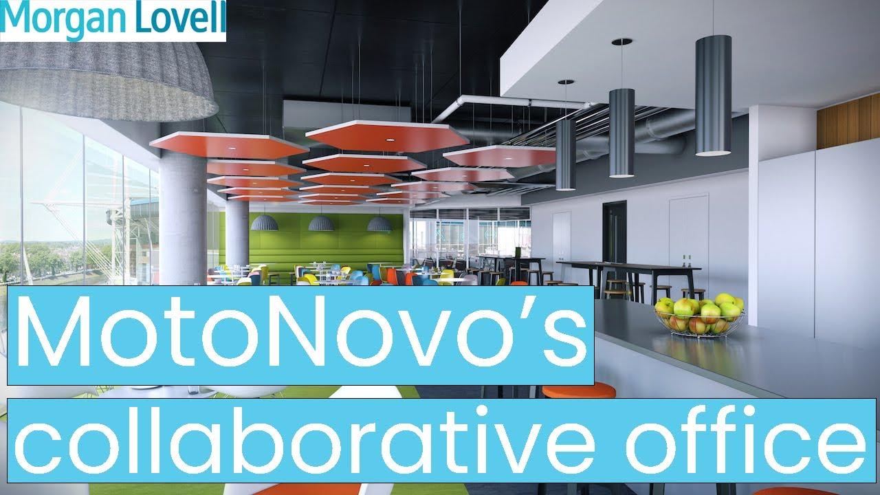 Motonovo 39 s collaborative new office in cardiff youtube for Office design cardiff