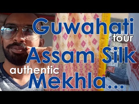Assam Silk Mekhla   Guwahati Fancy Bazar   Pan Bazar