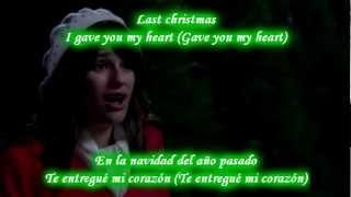 Glee Last Christmas Sub Spanish With Lyrics