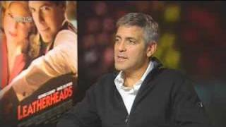 BBC Movies talks to George Clooney about being a Leatherhead