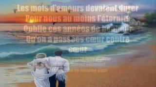 Chantal Pary - Un homme ne doit pas pleurer  * Lyrics