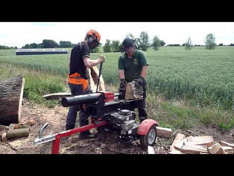 Mtd 25 Ton Log Splitter Ls550 A Customers Review Doovi