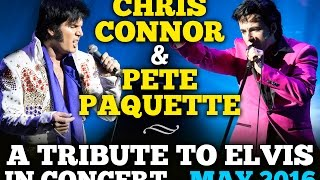 A Tribute To Elvis In Concert (Official Promo Video) May 2016 - ONTARIO TOUR(CITIES AND DATES* - Tickets on sale soon! May 9, 2016 – Richmond Hill May 12, 2016 – Oakville May 13, 2016 – Chatham May 14, 2016 – Oshawa May 15, ..., 2015-06-19T15:57:14.000Z)