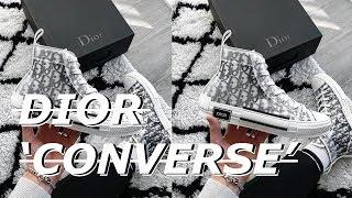 converse dior