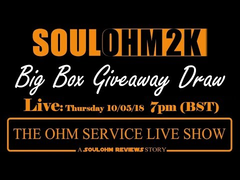 The Ohm Service Live 2K Giveaway Draw #10052018