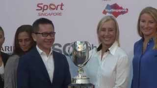 WTA Live | 2014 BNP Paribas WTA Finals presented by SC Global Doubles Draw Ceremony