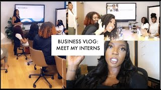 Day in the Life of an Entrepreneur | Meet my interns! Internship Orientation | LavishRuby
