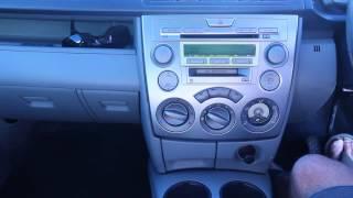 Mazda Demio 2005 - Remove Factory Radio - Mazda 2
