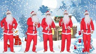 PAPAI NOEL FOI CLONADO (Christmas) - Five Dads Dancing For You song, 5 papais dançando para você