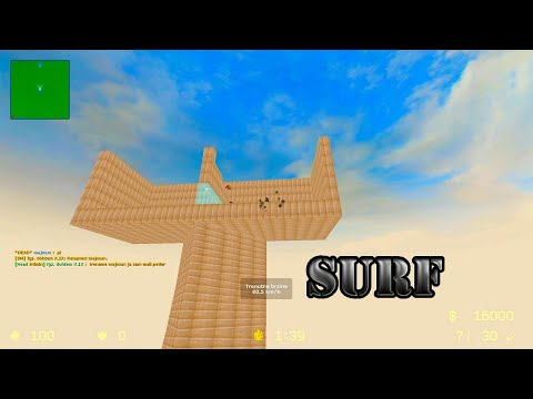 Counter-Strike Source Surf Gameplay On 4fun Map Server FunGameZone