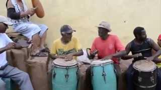 Yemayá Olodo y Elegguá baila bonito  Tradiciones de Cuba  Trinidad Julio 2012