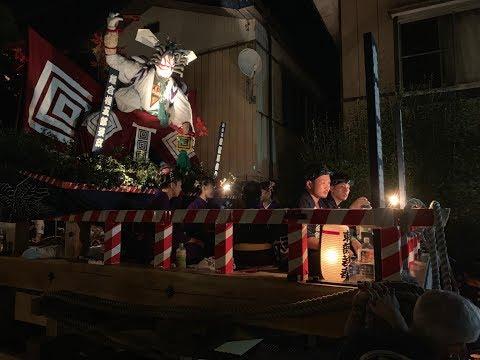2019.9.7 角館のお祭り 東部若者