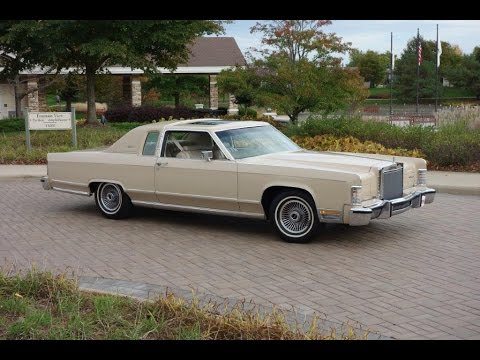 2016 Lincoln Town Car >> 1979 Lincoln Town Coupe Low Mileage 1 Owner Survivor ...