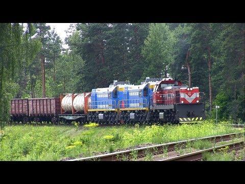 Новые маневровые тепловозы ТЭМ18ДМ / New diesel shunting locomotives TEM18DM