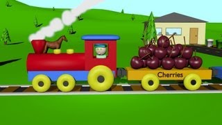 Cover images The Fruit Train 2 - Learning for Kids